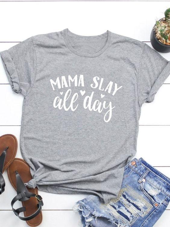 Women MAMA T-Shirt DL05F0