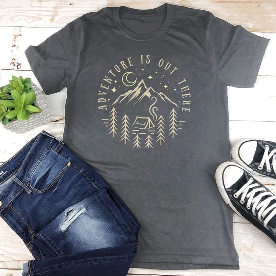 Adventure is Out There T-shirt DF3M0