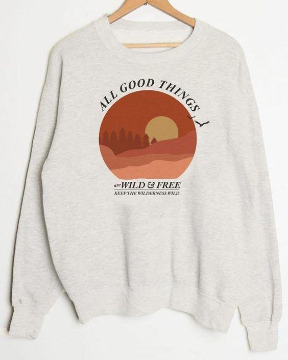 All Good Things Sweatshirt AN19M0
