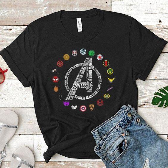 Avengers T Shirt SE9M0