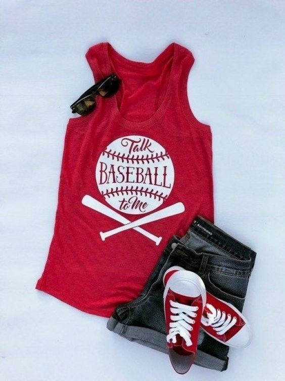 Baseball To me tanktop DF3M0