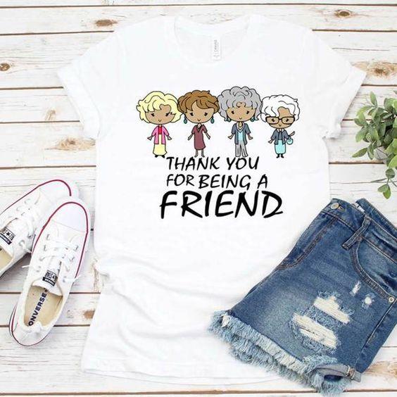 Being a Friend T Shirt SE9M0