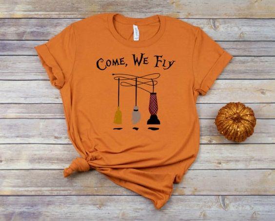 Come We Fly Tshirt TU17M0