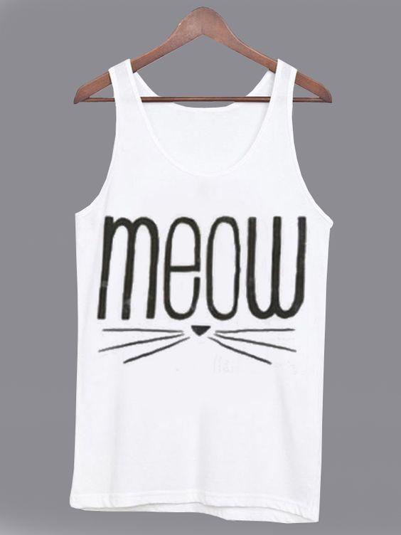 Meouw Cat Tanktop DF3M0