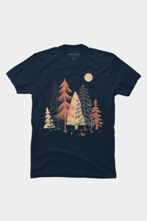 Spot in the Wood Tshirt DF3M0