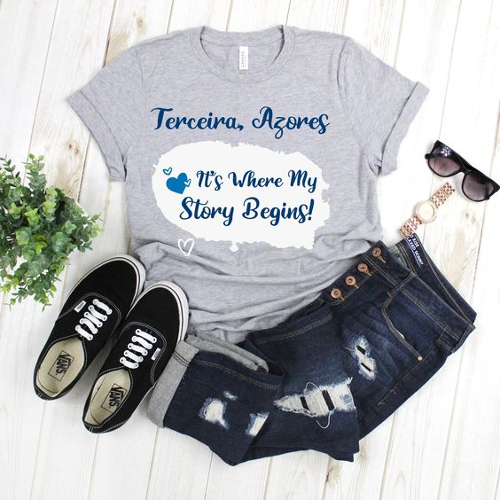 Terceira Island T Shirt AN19M0