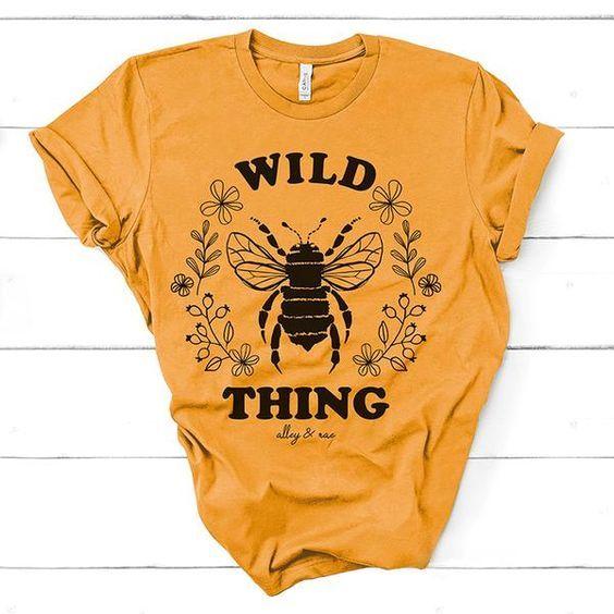 Wild Thing Tee Shirt DF3M0
