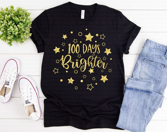 100 Days Brighter Shirt YT13A0