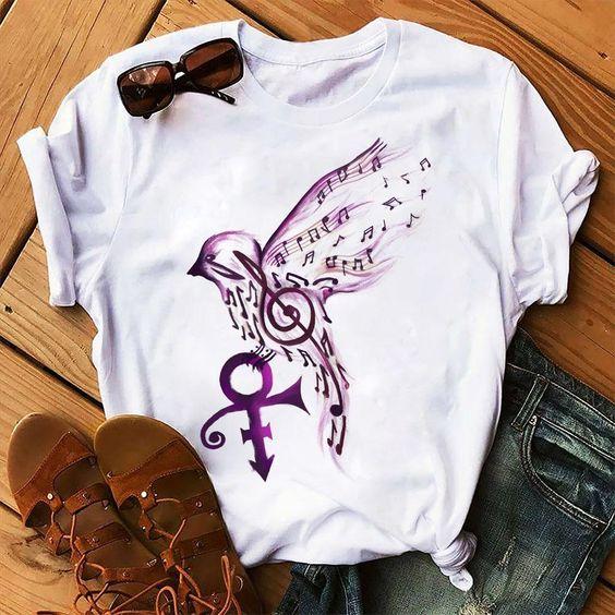 Bird Music T Shirt EP3A0