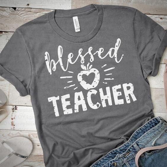 Blessed Teacher Tshirt YT13A0