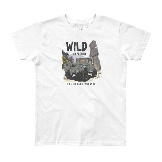 Wild Explorer Youth T-shirt ND8A0
