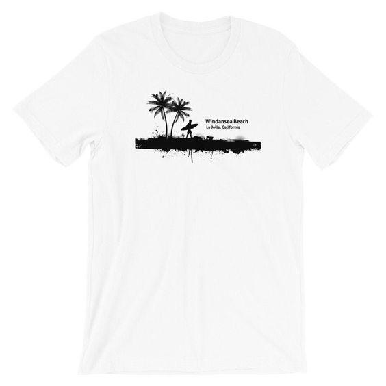 Windansea Beach T-shirt ND8A0