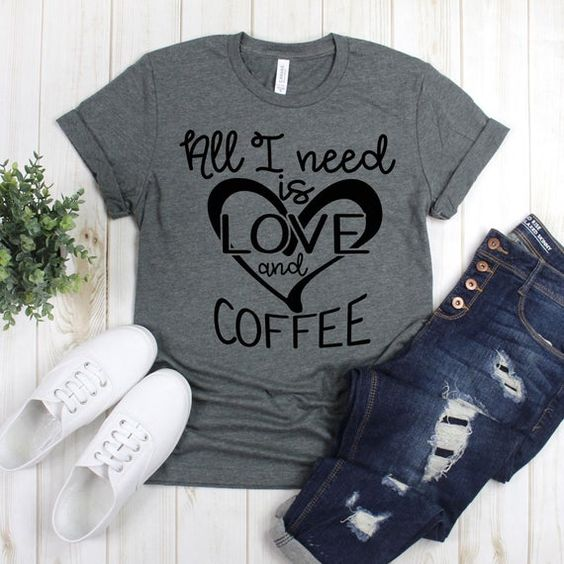 All I Need Is Love Tshirt AS24JN0