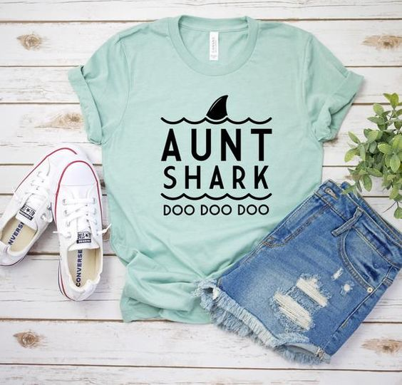 Aunt Shark Shirt FD2JN0