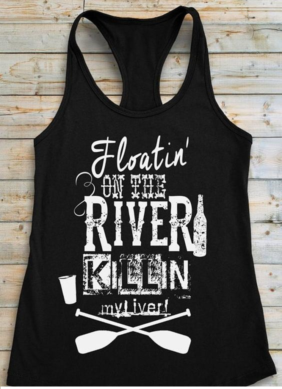 Floating On the River Tanktop FD10JL0