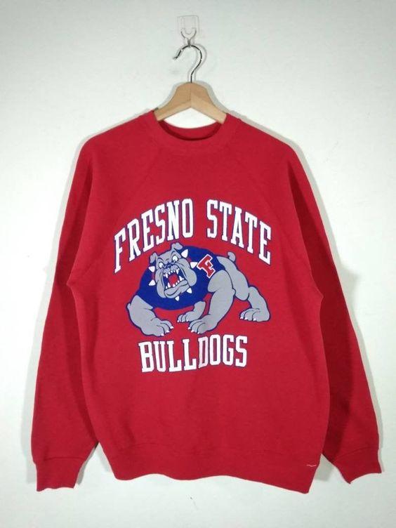 Fresno State Bulldogs Sweatshirt TK2JL0