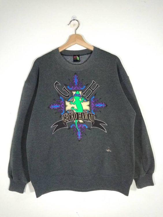 Gecko Hawaii Sweatshirt TK2JL0