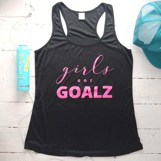 Girls Got Goalz Tanktop FD10JL0