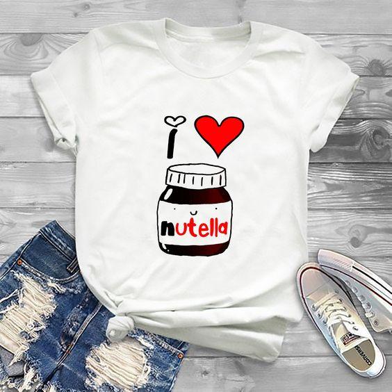 I Love Nutella T-Shirt AN21JL0