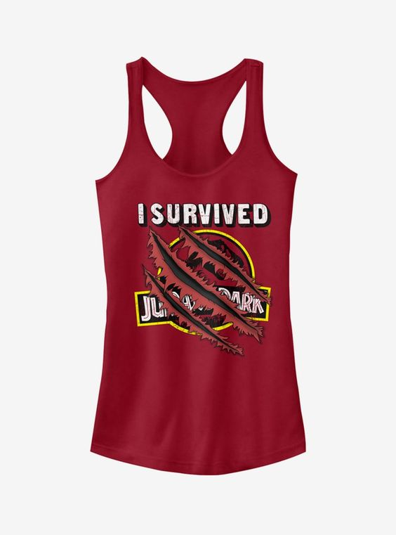 I Survived Scratch Girls Tanktop FD10JL0