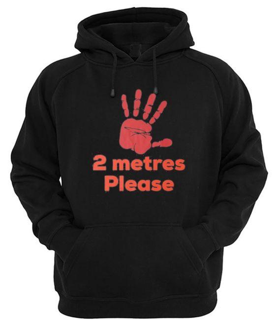 2 Metres Please Hoodie TA24AG0