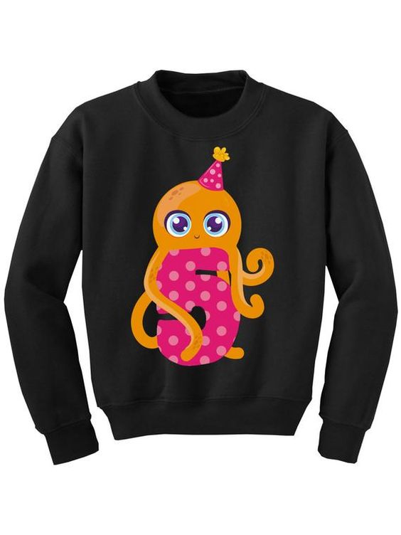 5th Birthday Youth Sweatshirt TA12AG0
