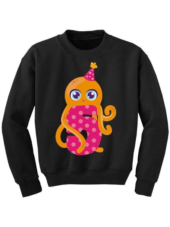 5th Birthday Youth Sweatshirt TA12AG0