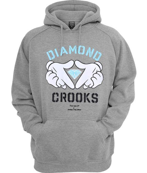 Diamond Crooks Hoodie TA24AG0