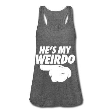 He's My Weirdo Tanktop TA5AG0