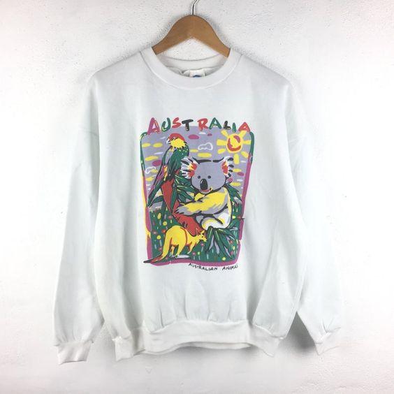 Vintage Australia Sweatshirt TA12AG0