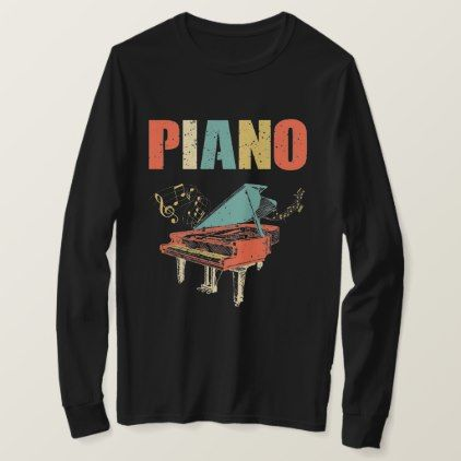 Vintage Piano Sweatshirt TU7AG0