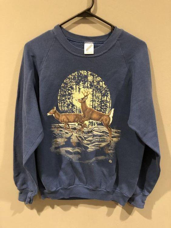 deer in the woods sweatshirt TA12AG0