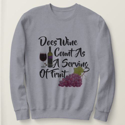 wine lovers Sweatshier TA12AG0