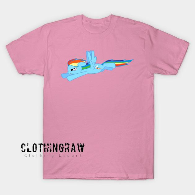 Flaying Unicorn T-Shirt AL26N0