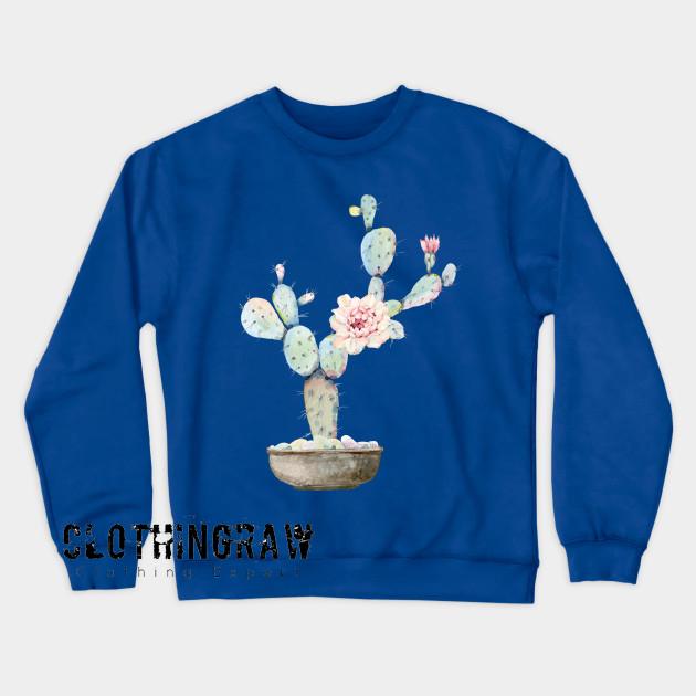 Aesthetic Cactus Sweatshirt AL8D0