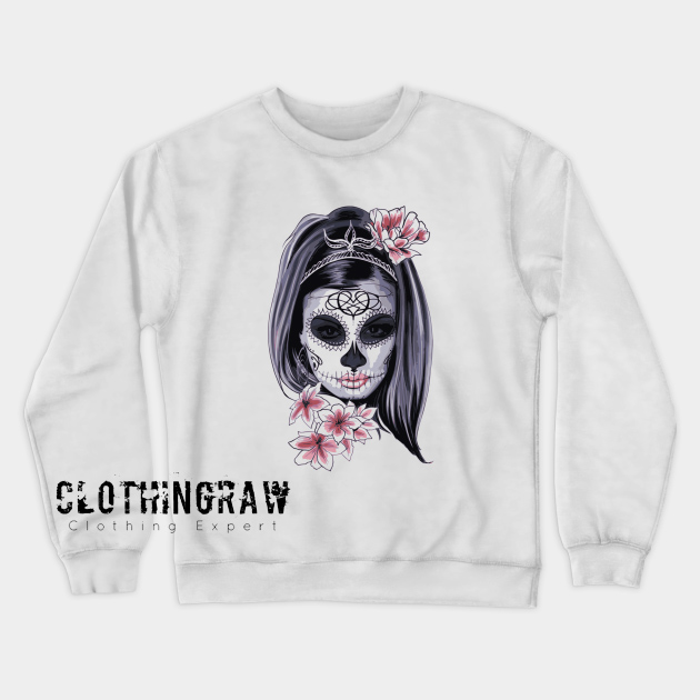 Aesthetic Design Female Sweatshirt AL10D0