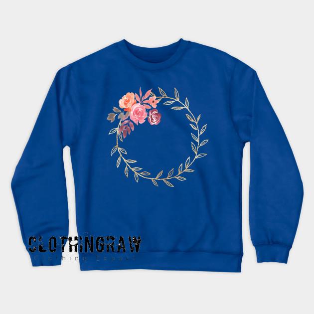 Aesthetic Floral Vintage Sweatshirt AL8D0