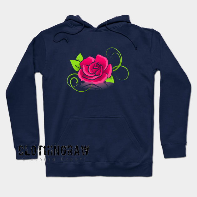 Beautiful Roses Hoodie AL2D0