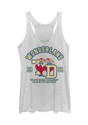 Alice In Wonderland Junior's Tank-Top AG18F1