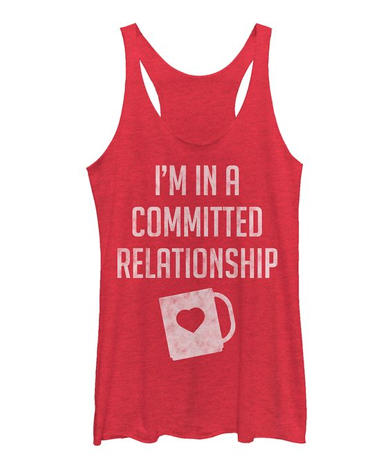 Committed Relationship Tank Top AG18F1