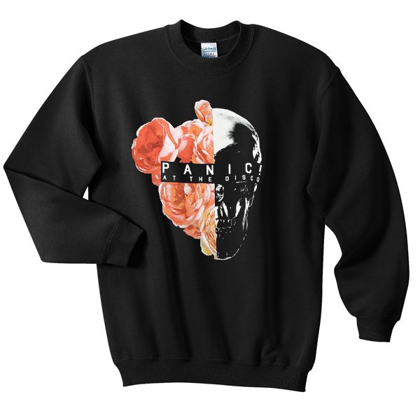 Aesthetic Skull Flower Sweatshirt AL19F1