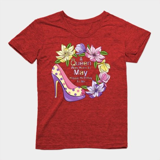 A Queen Was T-Shirt SM29MA1