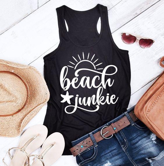 Beach Junkie Tanktop SM20MA1