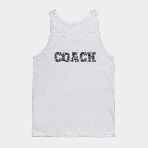 Coach That Says Tanktop SM29MA1