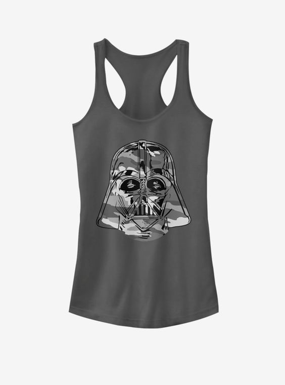 Star Wars Camo Vader Girls Tank Top AG8MA1