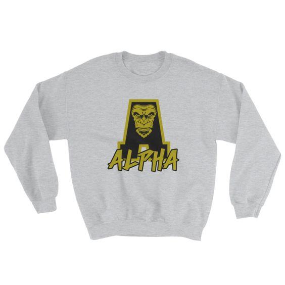 Angry Ape Sweatshirt EL15A1