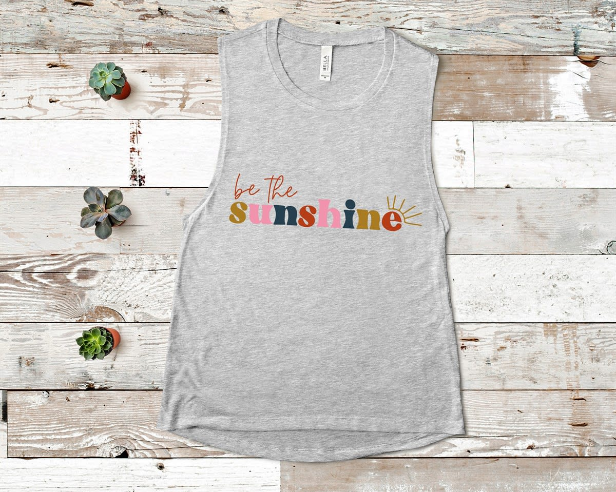 Be The Sunshine Tank Top EL21A1