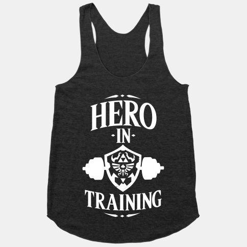 Hero In Training Tank Top EL15A1